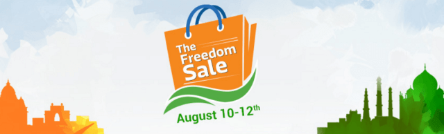 Flipkart Freedom Sale