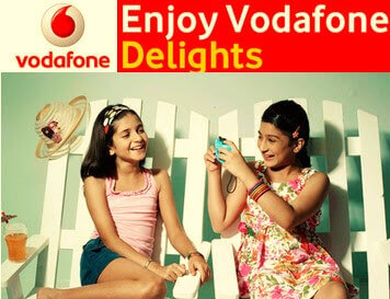 vodafone delight offer free call