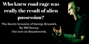 Who knew road rage was really the result of alien possession_