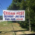 CedarFest 2016 is July 30th