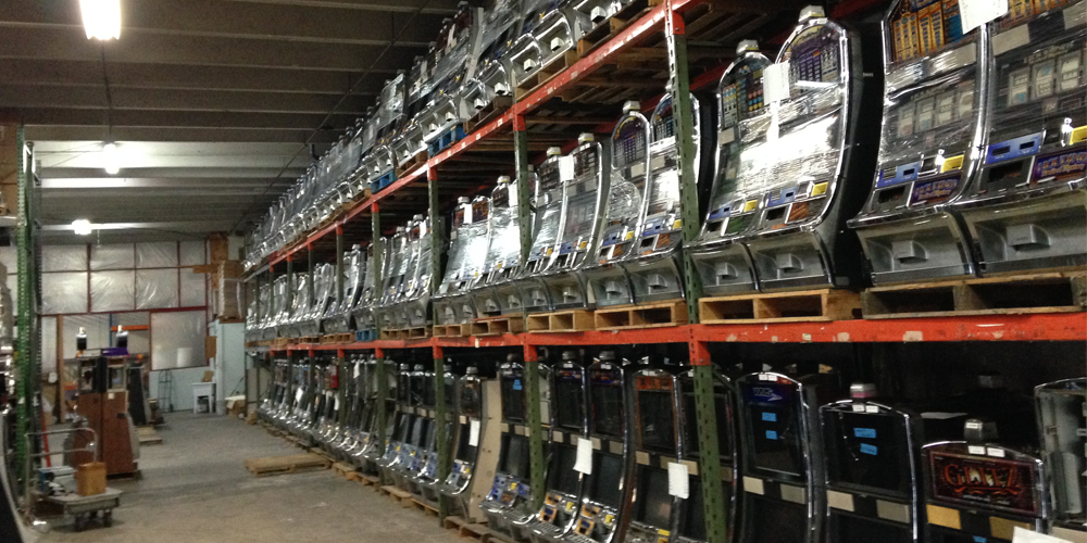 Over 5000 Machines in Stock Now