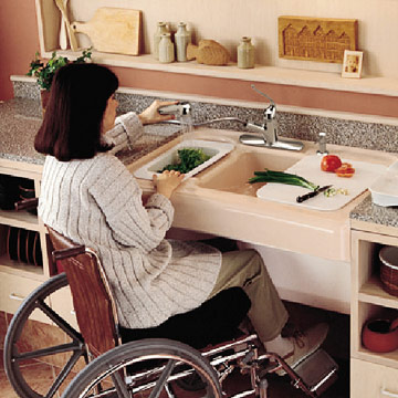 Top 5 things to consider when designing an accessible kitchen for wheelchair users assistive Kitchen design for elderly