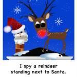 screen shot of i spy a reindeer