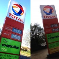 Petrol panic pushes up prices
