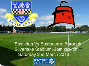 Eastleigh Vs Eastbourne Borough today