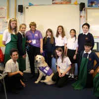Thornden pupils raise £7,500 for Canine Partners