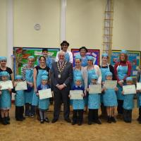 Bursledon pupils cook and eat