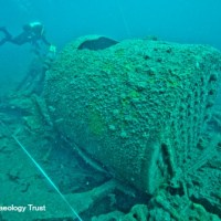 Sunken wartime wrecks go online