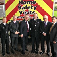 Minister visits Hampshire Fire and Police HQ