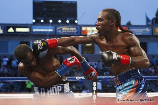 Jermell Charlo vs Demetrius Hopkins