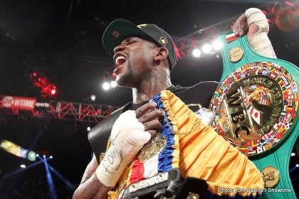 Left Hook Lounge: Mayweathers Greatness, C.J. Ross, & Danny Garcias Future!!!