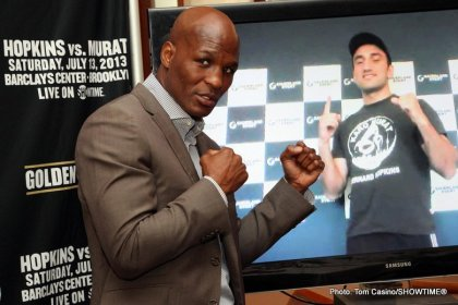 Bernard Hopkins To Face Mandatory Challenger Karo Murat In A Bout Rescheduled For October 26 At Boardwalk Hall In Atlantic City, NJ