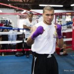 Thursdays LA Undercard Workout Photos and Quotes: De Leon, Mares, Santa Cruz