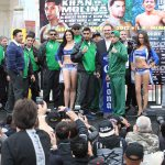 Khan vs. Molina Weigh In Results   Video