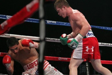 "01AlvarezvsLopezIMG 8394 Saul ""Canelo"" Alvarez: ""Canelo wants Mayweather and Cotto in 2013"""