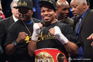"The Pugilist KOrner: Shawn Porter, Bill Caplan, Deontay Wilder, Clarence ""Bones"" Adams, Keandre Gibson, and Steed Woodall"