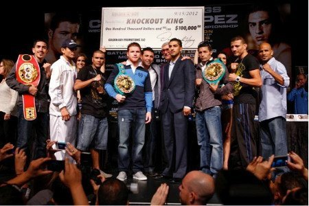 Saul Alvarez vs. Josesito Lopez fight sold out for Saturday at the MGM Grand in Las Vegas