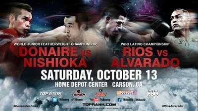 Nishioka vs Donaire, Rios vs Alvarado: Prepare For Warefare
