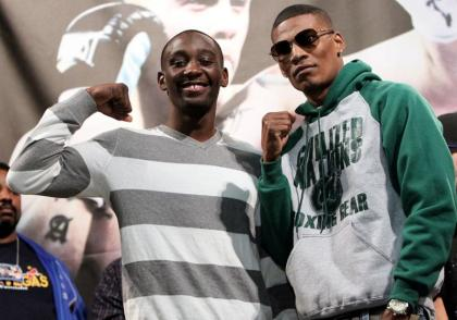 Breidis Prescott vs. Terence Crawford tomorrow night at the Mandalay Bay Resort & Casino, in Las Vegas