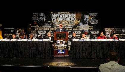 Mayweather vs. Guerrero news