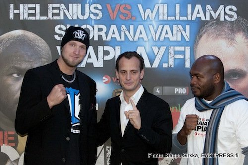 1Faceoff Helenius vs Williams weights from Helsinki