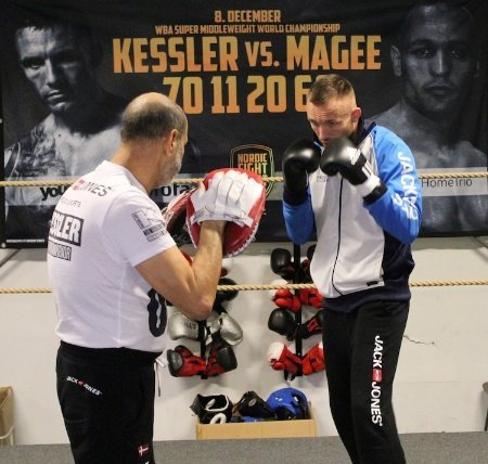 "Kessler Magee work out   Montoya: ""Magee won´t be there for the tenth round"""