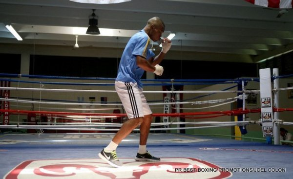 29 ene 2013 Aldimar Silva Santos trains in Puerto Rico for Juanma Lopez 3