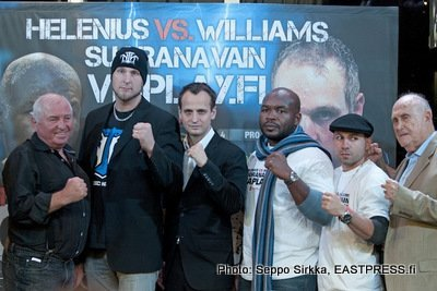 2Faceoff Helenius vs Williams weights from Helsinki