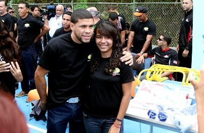 30 nov 2012 WBO Kids Drug Free in Aguas Buenas Puerto Rico Juanma Lopez News: JuanMa Lopez; Eric Hunter; Michael Anderson