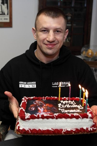 Tomasz Adamek Celebrates Birthday at Main Events