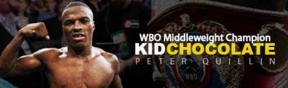 Peter Kid Chocolate Quillin makes 1st world title defense Feb. 9