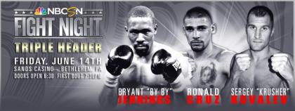 TODAY Watch Final Presser for 6/14 NBCSN Fight Night Show Live at 3PM ET