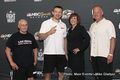 Main Event's press conference for Tomasz Adamek fight August 3rd at Mohegan Sun on MSNBC