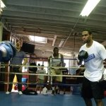 Video: Eddie Chambers Media Workout   Spars With Jesse Hart