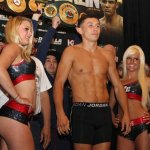 Weights: Golovkin 159, Macklin 159