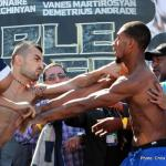 Weights: Donaire vs Darchinyan, Garcia vs Martinez, Martirosyan vs Andrade