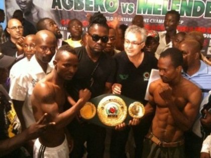 Agbeko and Melendez to light Accra tonight