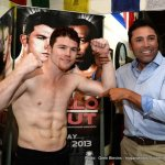 Canelo Alvarez Los Angeles Media Workout Quotes