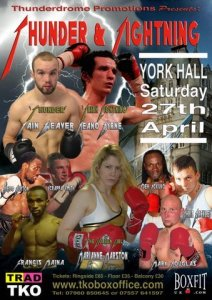 Amateur Star Iain Weaver To Pro Debut On Apr 27th York Hall Event