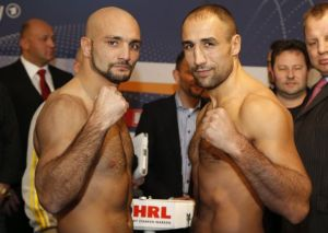 Bouadla Abraham1 450x363 Abraham vs Bouadla Weigh In Results   Video