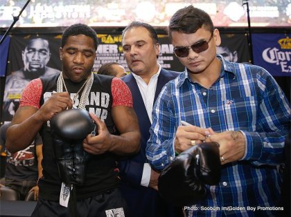 Adrien Broner and Marcos Maidana Interview Transcript