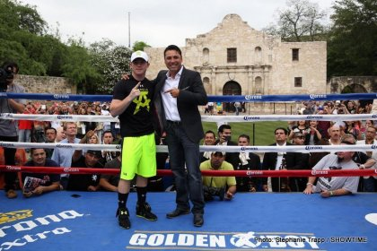 Canelo Alvarez, Austin Trout & April 20 Undercard San Antonio Workout Quotes