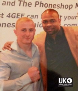 Chris Truman Inspired By Roy Jones Junior