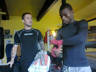 Commey and coach hail Ricky Burns sparring