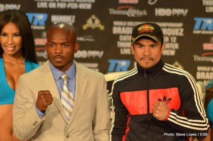 Exclusive Media Roundtable Interviews: Juan Manuel Marquez and Timothy Bradley