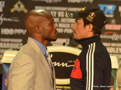 Marquez vs. Bradley: Will Juan Manuels Dinamita be potent enough to put a dent in Mt.Timmy's forehead?