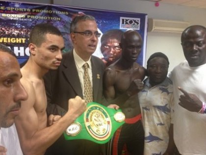 Dahou and Dodze set for Friday night fight in Accra