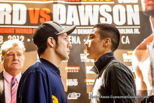 Ward vs. Dawson & DeMarco vs. Molina Final Press Conference Photos