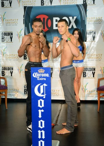 Night Of The Olympians Weigh In Photos; Raushee Warren Makes Pro Debut