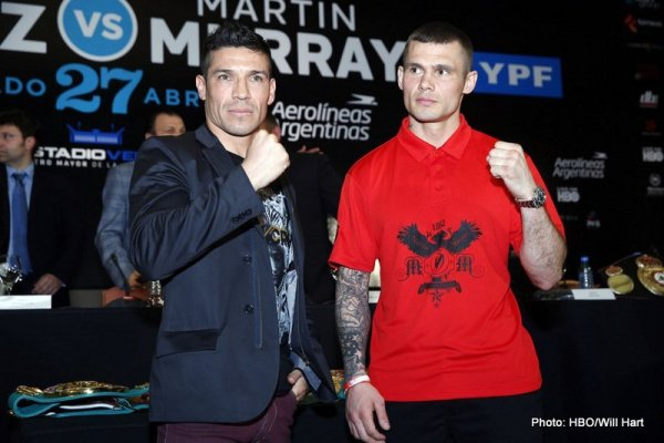 Sergio Martinez vs Martin Murray